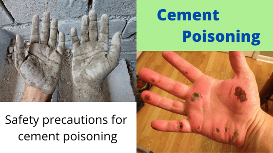 cement poisoning